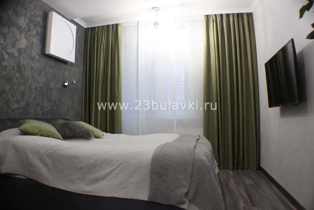 Шторы и подушки в спальню Краснодар ул. Кубанская 56