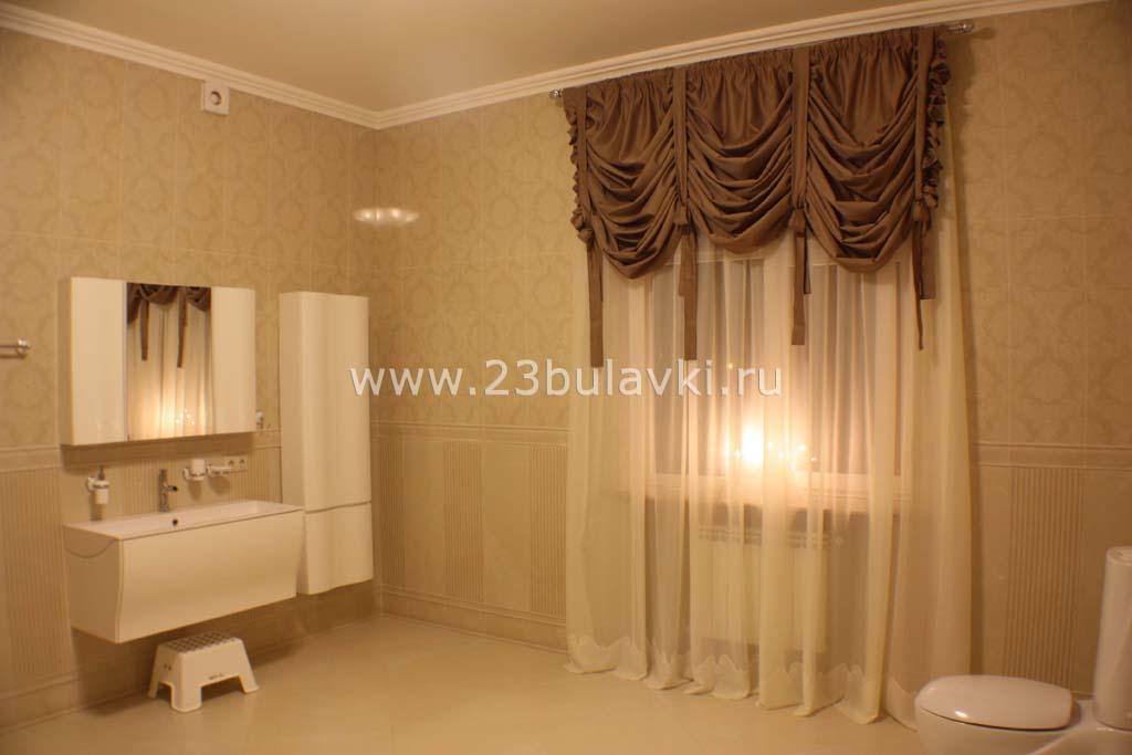 Шторы в ванную Краснодар ул. Баумана