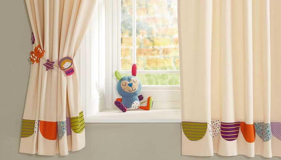Своими руками шторы для детской 64